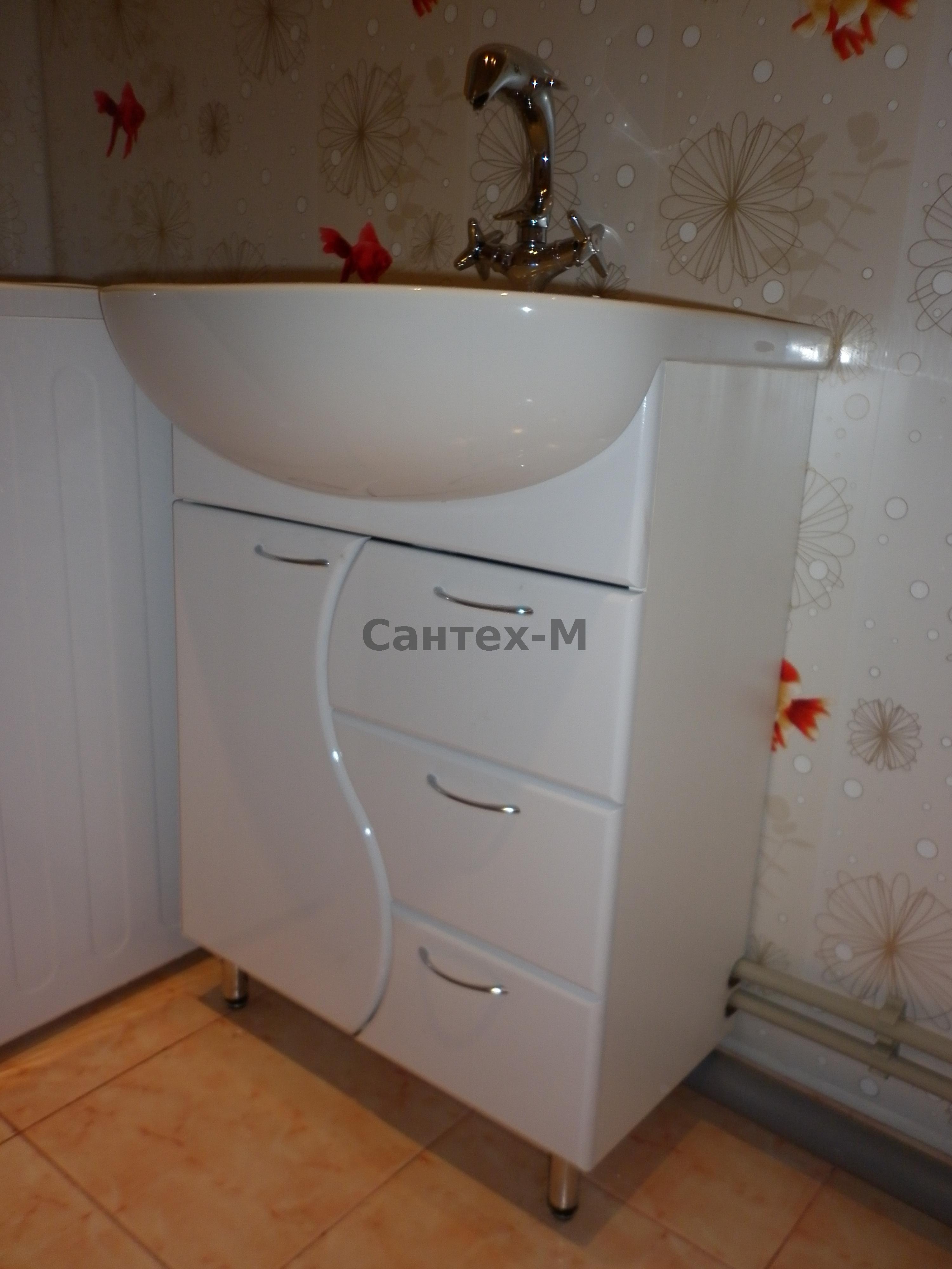 Тумбочка под раковину в ванную своими руками фото