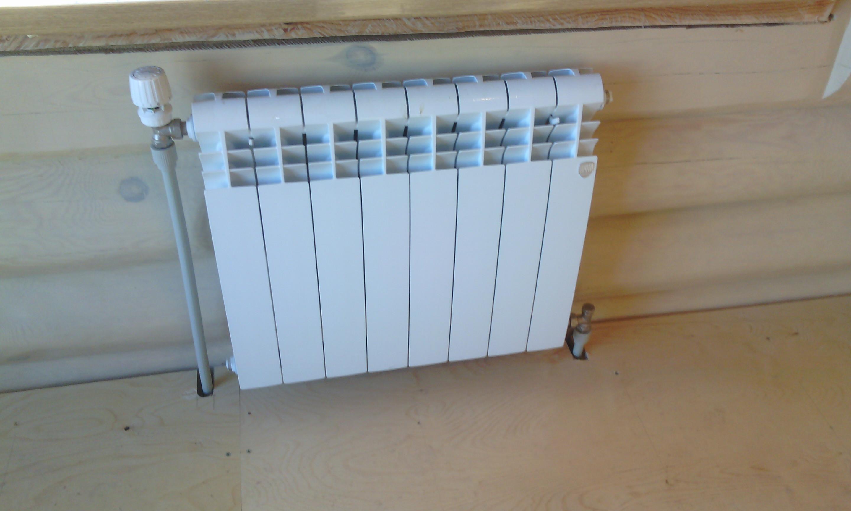 Установка радиаторов отопления своими рукам